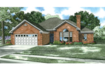 Traditional All Brick Ranch Style Home
