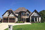 Triple Roof Hangers, Shingles and Stone Add To Style
