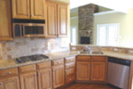European House Plan Kitchen Photo 01 - 055D-0192 | House Plans and More