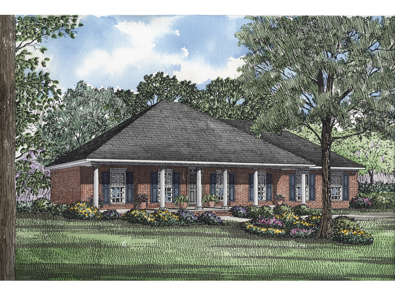 Morisa Lowcountry Home Plan 055D 0195 House Plans and More