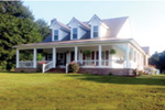 Colonial House Plan Front Photo 01 - 055D-0196 | House Plans and More