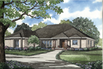 Sunbelt Home Plan Front Image - 055D-0199 | House Plans and More