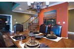 European House Plan Dining Room Photo 01 - 055D-0202 | House Plans and More