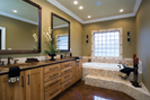 Country French Home Plan Master Bathroom Photo 01 - 055D-0202 | House Plans and More