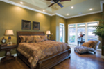 Country French Home Plan Master Bedroom Photo 01 - 055D-0202 | House Plans and More
