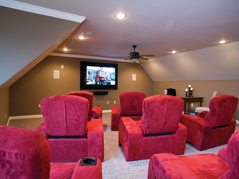 Traditional House Plan Theater Room Photo 01 055D-0202