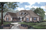 Ranch House Plan Front Image - 055D-0211 | House Plans and More
