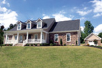 Acadian House Plan Front Photo 02 - 055D-0212 | House Plans and More
