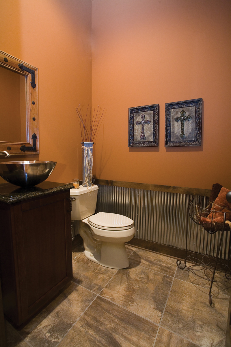 Contemporary House Plan Bathroom Photo 02 055D-0215