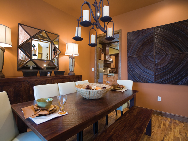 Traditional House Plan Dining Room Photo 01 055D-0215