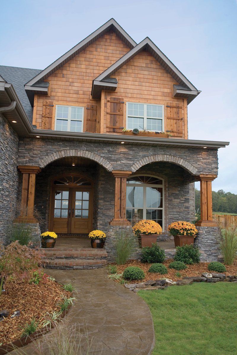Traditional House Plan Entry Photo 01 055D-0215