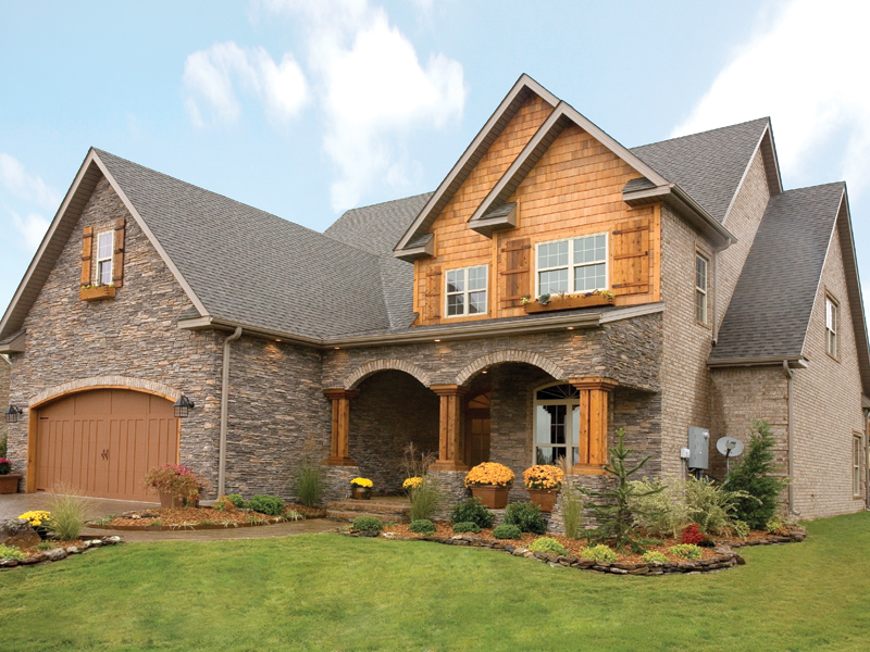 Arts and Crafts House Plan Front Photo 02 055D-0215