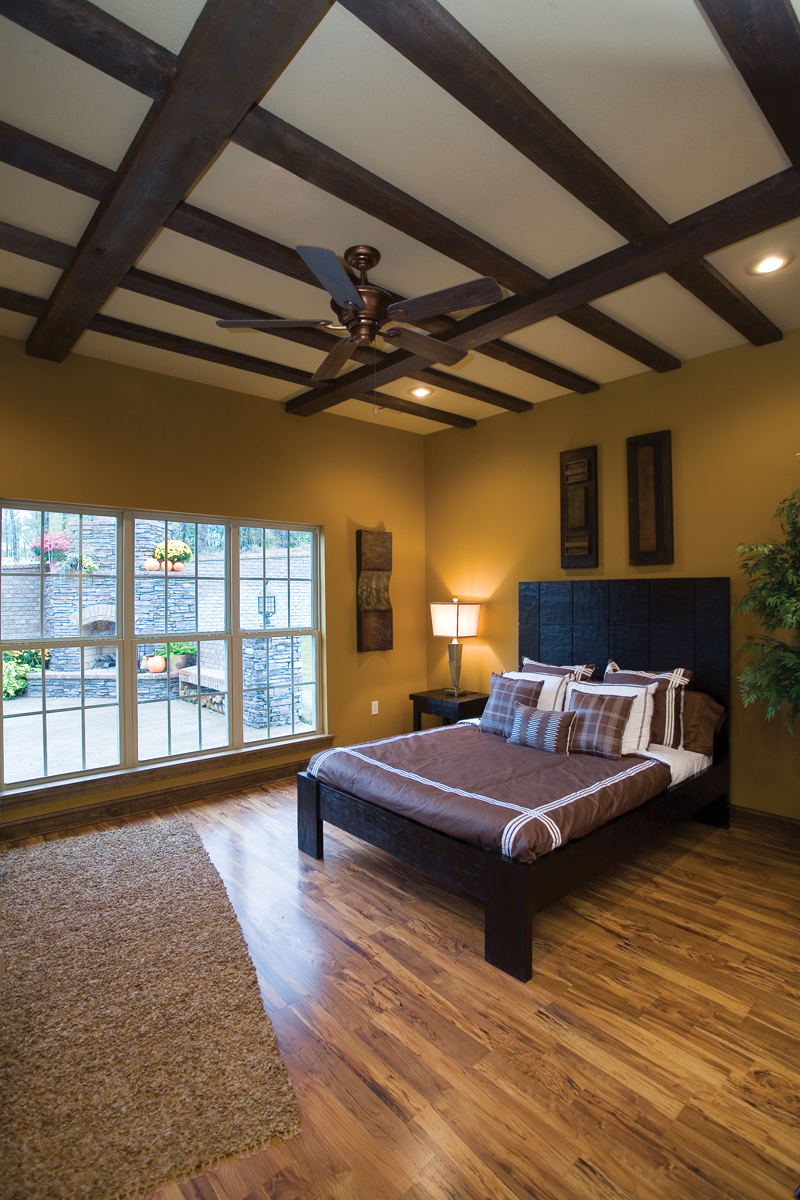 Traditional House Plan Master Bedroom Photo 01 - 055D-0215 | House Plans and More