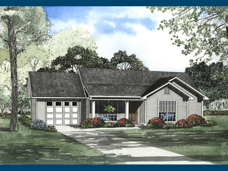 Stallion Country Ranch Home Plan 055D 0221 House Plans
