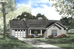 Lovely Country Ranch Home Plan