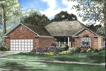 Practical, Traditional Ranch Home Plan