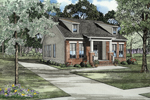 Ranch Narrow Lot With Neoclassic Style