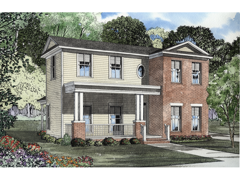 Simply Styled Two-Story Home