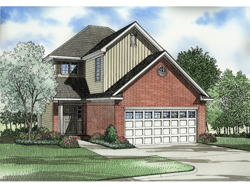 Compact, Efficient Two-Story Home