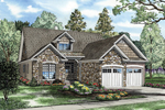 Rustic Craftsman Design With Cozy Façade