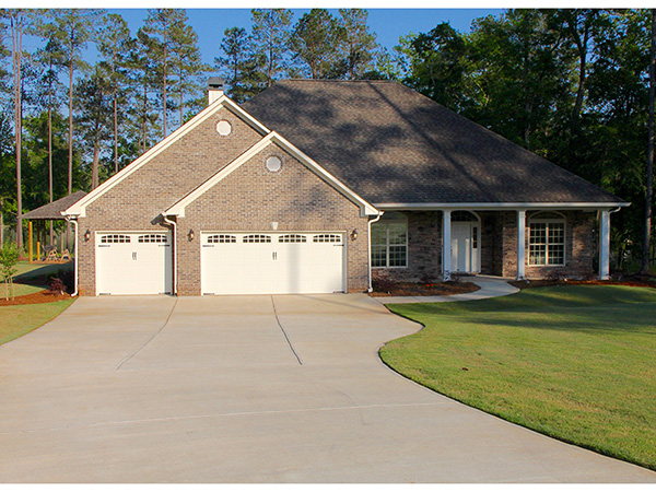 Dunaway Traditional Ranch Home Plan 055d 0273 House