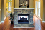 Southern House Plan Fireplace Photo 02 - 055D-0289 | House Plans and More