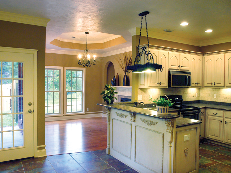 Ranch House Plan Kitchen Photo 02 055D-0289