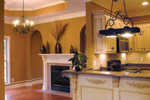 Traditional House Plan Kitchen Photo 04 - 055D-0289 | House Plans and More