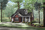Southern Styled Home With Deep Front Porch