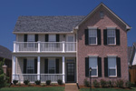 Colonial Floor Plan Front Photo 01 - 055D-0306 | House Plans and More