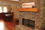 Cabin and Cottage Plan Fireplace Photo 01 - 055D-0350 | House Plans and More
