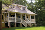 Cabin & Cottage House Plan Front Photo 01 - 055D-0350 | House Plans and More