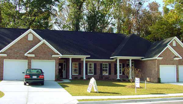 Halliburton Ranch Duplex Plan 055d 0380 House Plans And More
