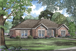 All Brick Ranch Designed For Comfortable Family Living