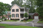 Two-Story Southern Plantation Home Has Classic Historical Charm