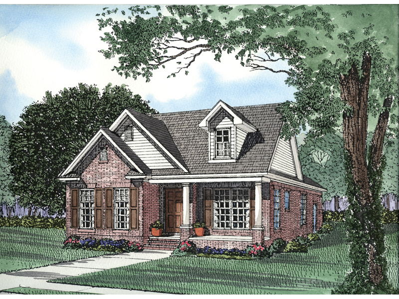 Country Features Create Tremedous Curb Appeal