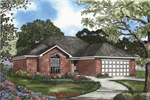 All Brick Ranch Home Has Traditional Feel