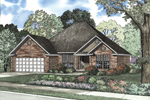 This Brick Covered Ranch Home Has Country Style