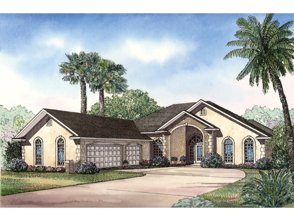Keeton sunbelt home plan 055d 0494 house plans and more for Sunbelt homes