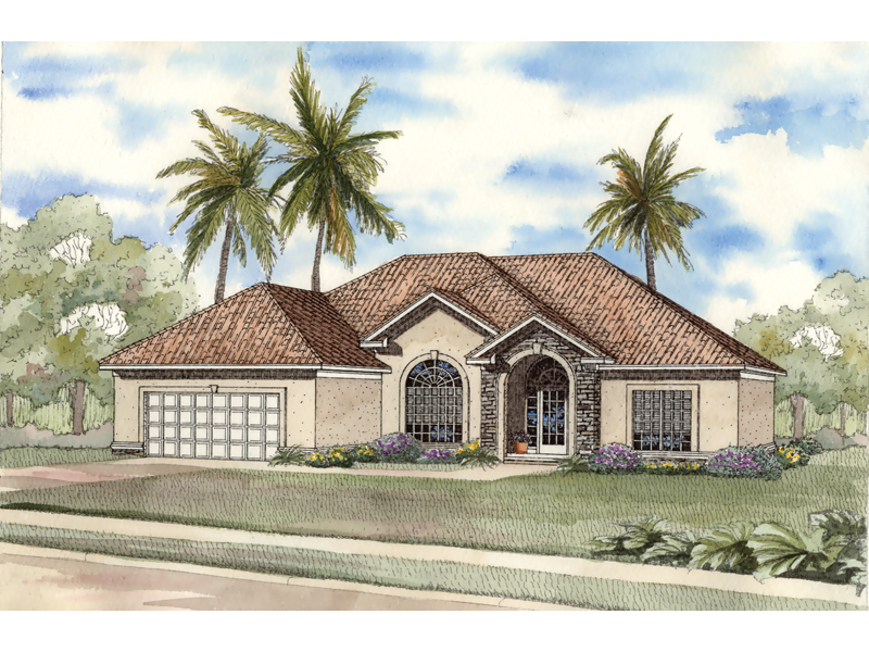 Coleridge sunbelt home plan 055d 0496 house plans and more for Sunbelt homes