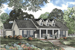 Cape Cod Style Ranch Home Has Triple Dormers