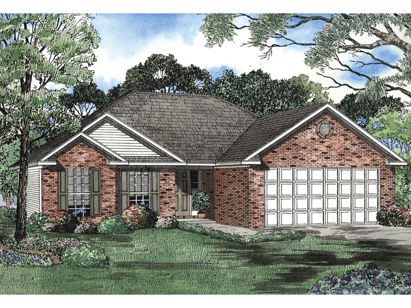 Beautiful Brick Ranch Designed For Comfortable Family Living