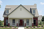 Bungalow Style Home With Stylish Roof Dormers