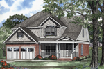 Southern Style Country Home With Shingle Accents