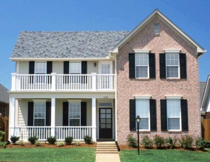 Southern Plantation House Enjoys Double Covered Porches