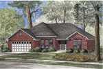 European House Plan Front Image - 055D-0543 | House Plans and More