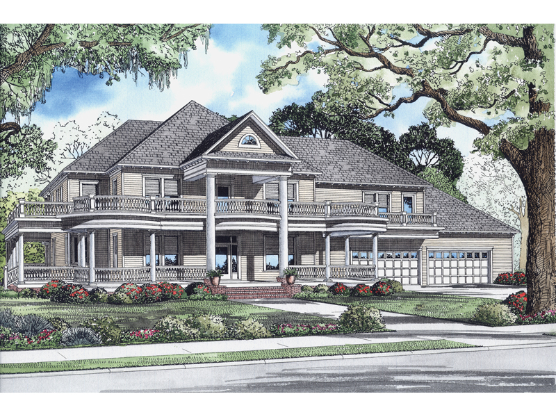Traditional House Plan Front of Home - 055D-0544 | House Plans and More