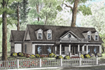 Plantation Style Details Give This Country House Character