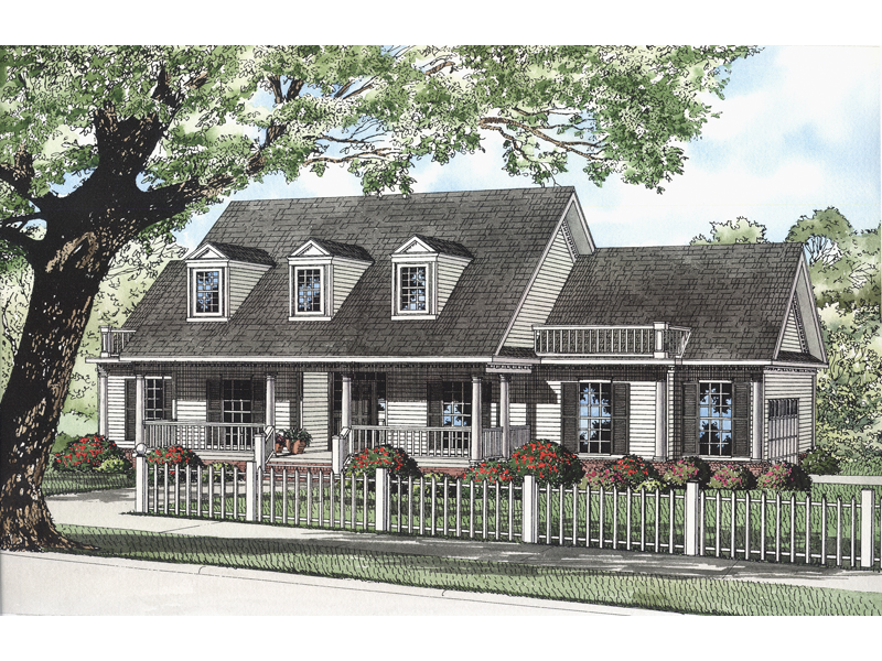 Classic Cape Cod Comfort With This Home Style