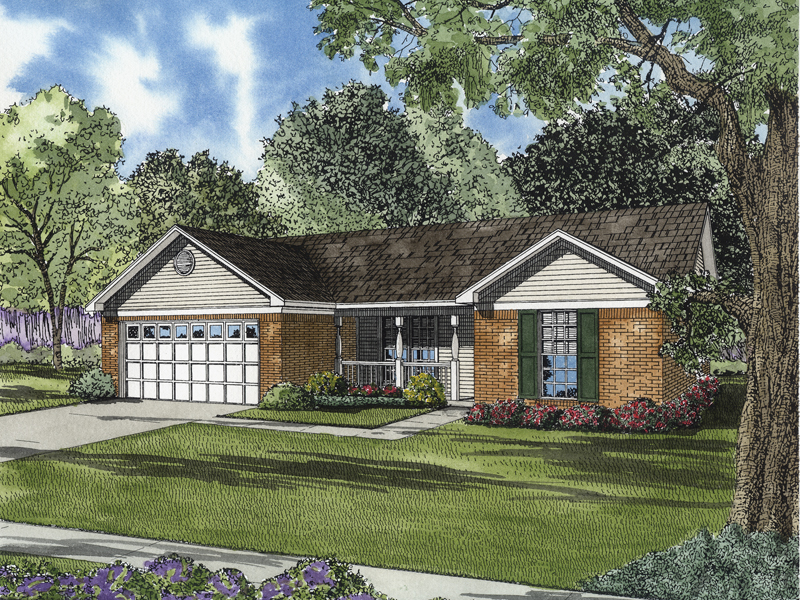 Traditional Ranch Home Offers Comfortable Family Living